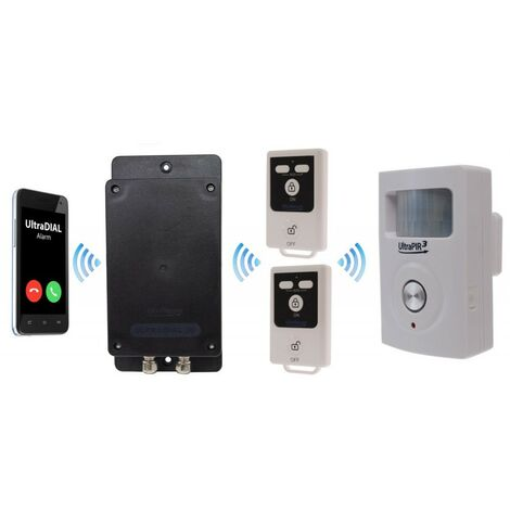 Battery Covert & Silent GSM UltraDIAL Alarm with 1 x UltraPIR