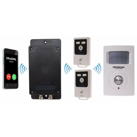 Battery GSM UltraDIAL Alarm with 1 x BT PIR