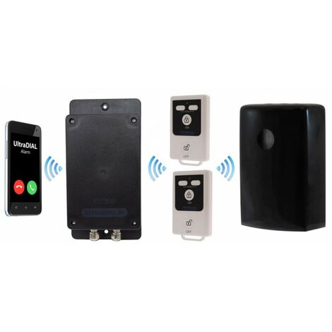 Battery GSM UltraDIAL Alarm with 1 x Outdoor BT PIR