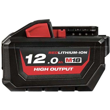 Battery MILWAUKEE M18 HB12 RedLithium-Ion 18V 12.0Ah 4932464260