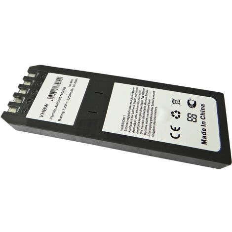 Battery NI-MH 2200mAh 7.2V compatible with Scopemeter Fluke 741, 741B, 743, 743B, 863, 865, 867, 867B, DSP100, DSP2000 replaces BP7217