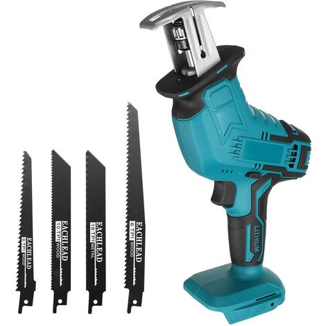 (battery not included) Cordless Electric Reciprocating Saw Reciprocating Saw Cutting Kit for Makita 18V Battery