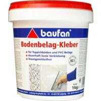 baufan Bodenbelags-Kleber PVC CV Teppich