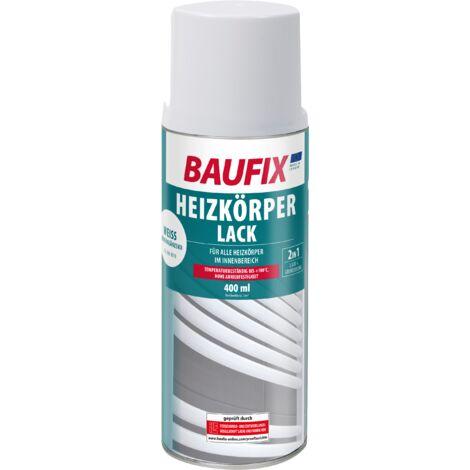 BAUFIX Heizkörperlack Spray weiß seidenglänzend 400 ml