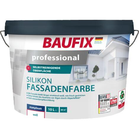 "main image of ""BAUFIX professional Silikon-Fassadenfarbe weiß"""