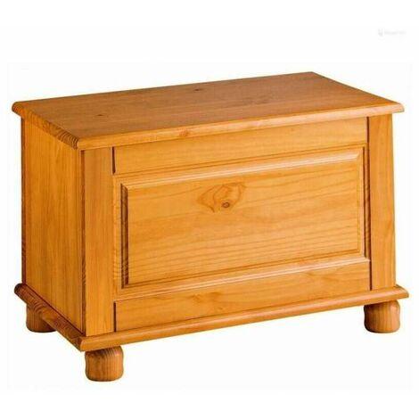 Baul Altea madera maciza de Pino color miel.