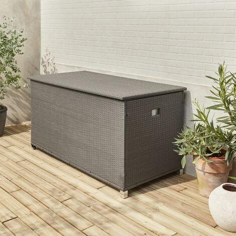 Baúl de almacenamiento para jardín 170x82cm