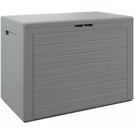 """main image of """"Baúl para cojines """"Lille"""" caja de almacenamiento cofre de Plástico para almohadas Arcón de jardín balcón balcón exterior"""""""