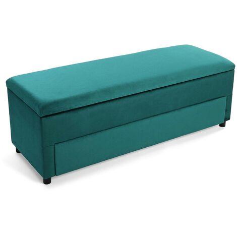 baúl zapatero verde 50x50x140