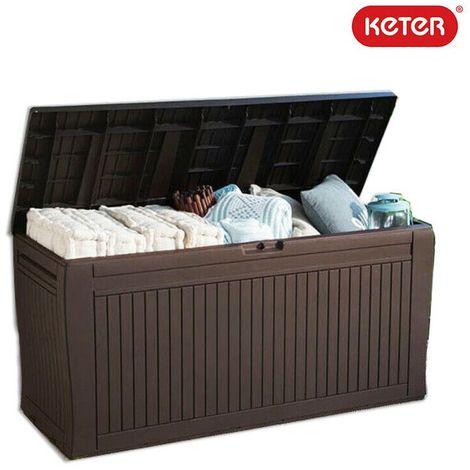 Baule cassa panca keter comfy 270 litri