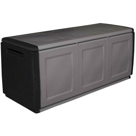 Box In Plastica Per Giardino.Baule In Resina Cassapanca Da Giardino Esterno Per Interno
