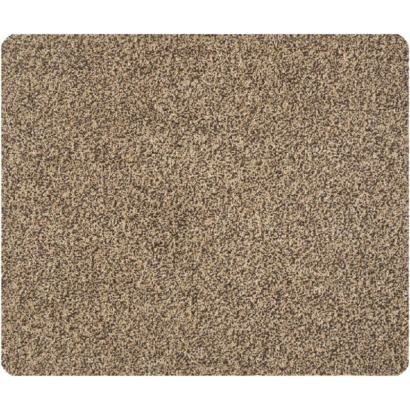 Baumwolle Matte Fußmatte beige Sauberlaufmatte Schmutzmatte Türmatte Türvorleger