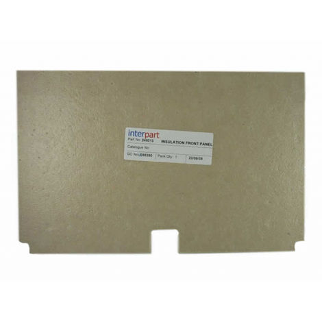 """main image of """"Baxi - Front Insulation Panel 248013"""""""