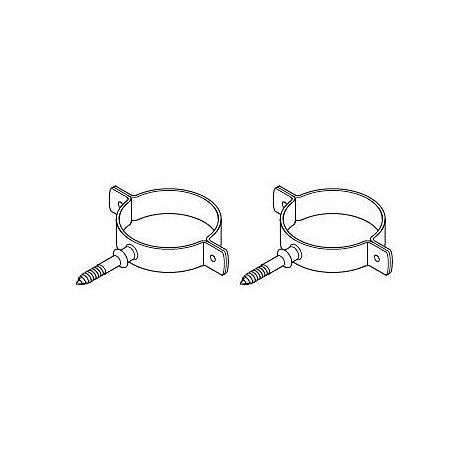 Baxi Multifit Group N Flue Support Bracket (pair)