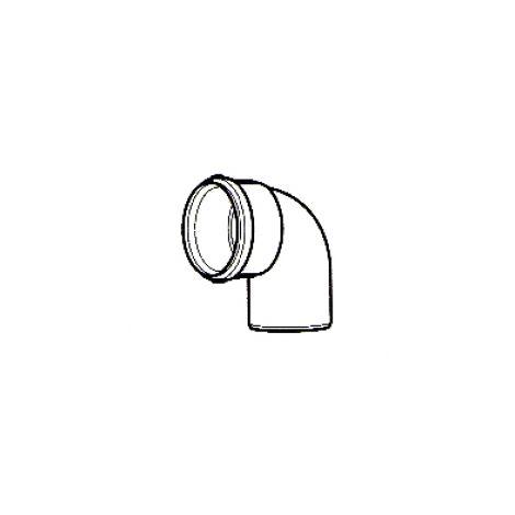 Baxi Plume Disp Kit 93 Degree Bend White 5121369