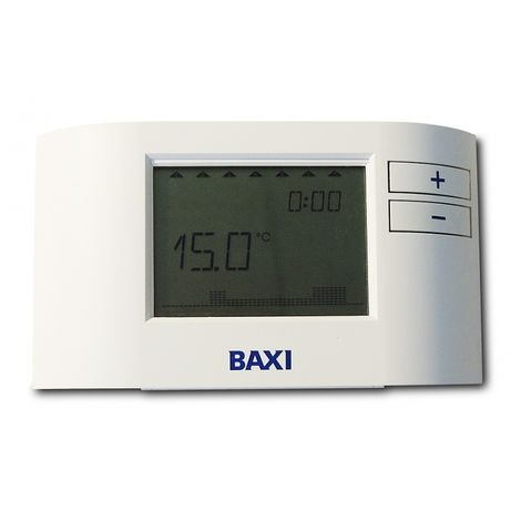 Baxi Single Channel Wired Programmable Room Thermostat 7212438