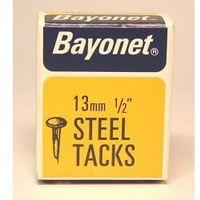 Bayonet Tacks - Fine Cut Steel - Blue (Box Pack) 13mm