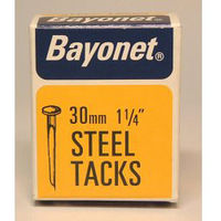 Bayonet Tacks (Fine Cut Steel) - Blue (Box Pack) 30mm