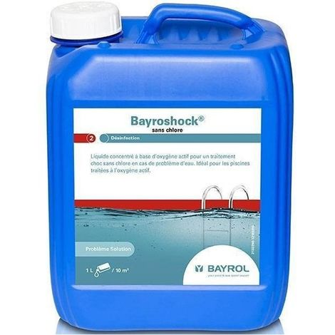 Bayroshock - 5 L de Bayrol - Produits chimiques