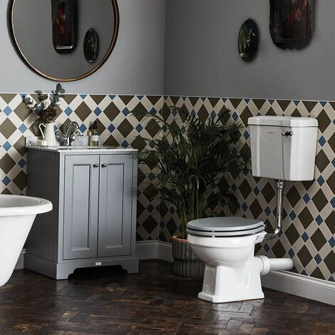 Bayswater Fitzroy Bathroom Suite with Floor Standing Vanity Unit 800mm - 1TH