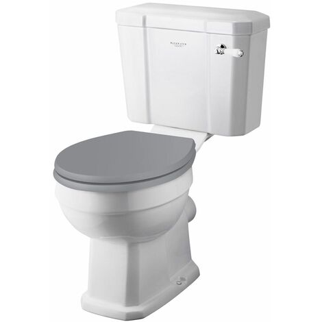 Bayswater Fitzroy Close Coupled Toilet WC Soft Close Seat White