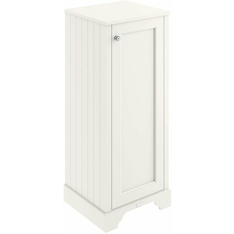 """main image of """"Bayswater Pointing White Tall Boy Storage Unit 465mm Wide"""""""