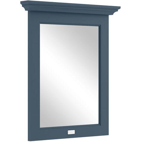 Bayswater Stiffkey Blue Bathroom Mirror 700mm High x 600mm Wide