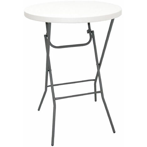 Bazon Foldaway Tall Kitchen Bar Poseur Table Indoor And Out Door Use