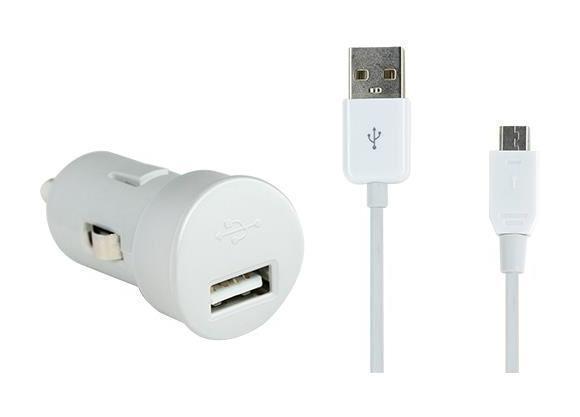 BBC mini chargeur allume-cigare USB 2A -