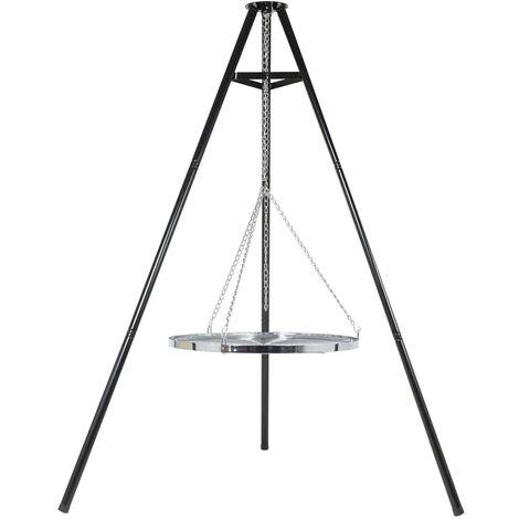 BBGRILL Tripod Grill Black 172 cm BBQ TRIPOD