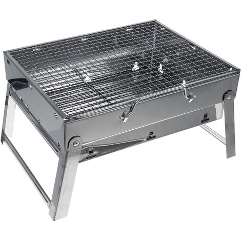 BBQ Charcoal Grill Portable Grill Outdoor Garden BBQ 20X27X35CM