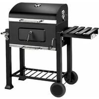 BBQ Florian - charcoal grill, barbecue, charcoal bbq - black