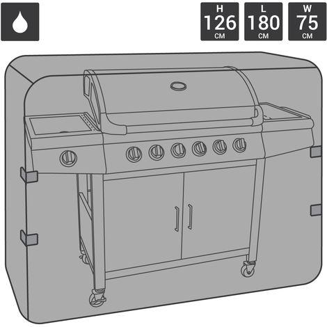 Bbq gaz imperméable charbon qualité supérieure Bbq Cover Extra Large 6-7 brûleur