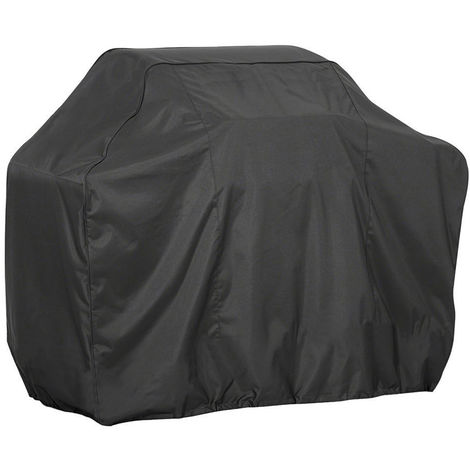 BBQ Grill Cover Barbecue Gas Grill Cover 210D Waterproof Heavy Duty Rip Resistant Dust-Proof Charcoal Electric Grill Cover, S