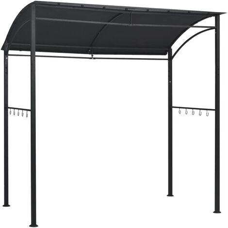 BBQ-Pavillon 215x150x220 cm Anthrazit Stahl