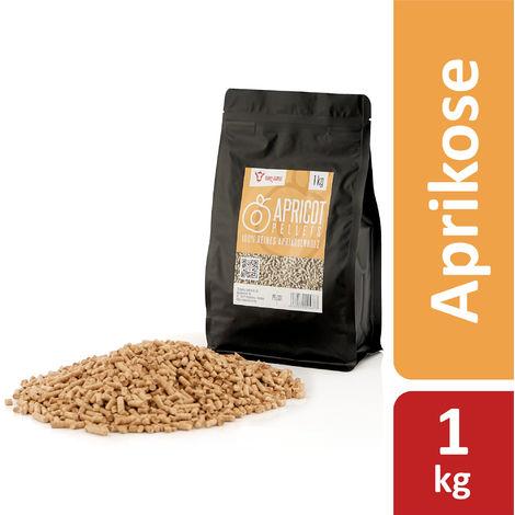 BBQ-Toro 1 kg apricot pellets from 100% apricot wood apricot pellets