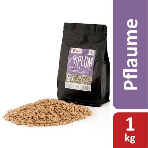 BBQ-Toro 1 kg Plum pellets made of 100% plum wood Plum pellets
