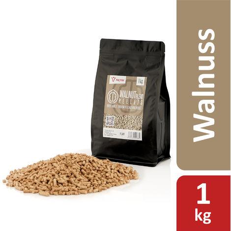 BBQ-Toro 1 kg walnut blend pellets made of 100% wood | Walnut pellets