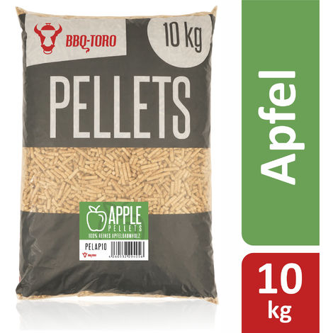BBQ Toro 10 kg apple pellets made from 100% apple tree wood Apple pellets
