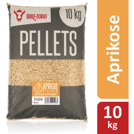 BBQ-Toro 10 kg apricot pellets from 100% apricot wood apricot pellets