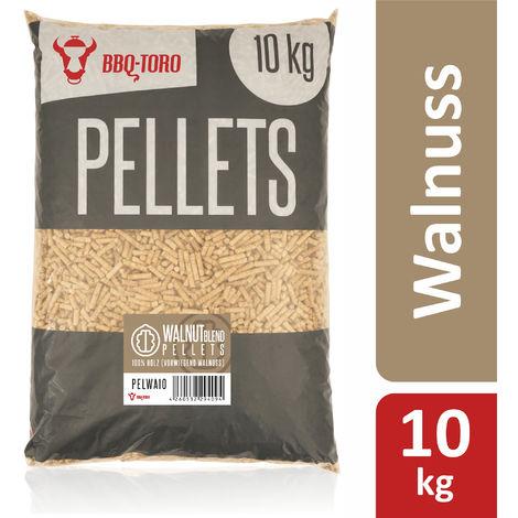 BBQ-Toro 10 kg walnut blend pellets made of 100% wood | Walnut pellets
