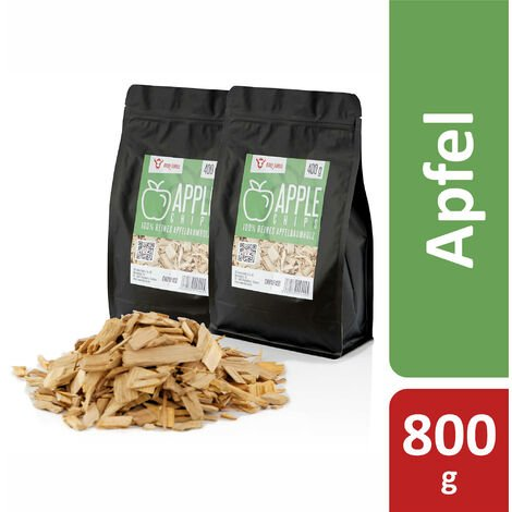 BBQ-Toro Apple Smoker Chips Apple Smoker Chips | 800 g | smoke intensive smoker