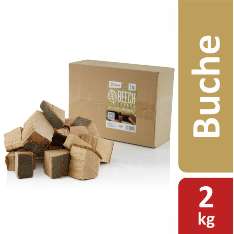 BBQ-Toro Beech Chunks smoked chunks | 2 kg | smoky beech wood chunks | smoking