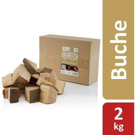 BBQ-Toro Buchen Chunks (2 kg) Räucherchunks | Holzchunks Buche