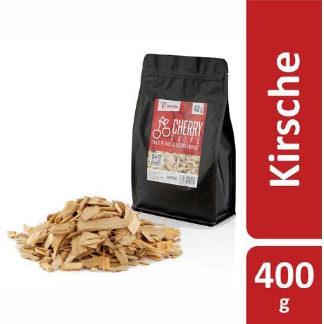 BBQ-Toro Cerise Chips pour Fumeurs | 400 g | Copeaux de fumée en bois de cerisie