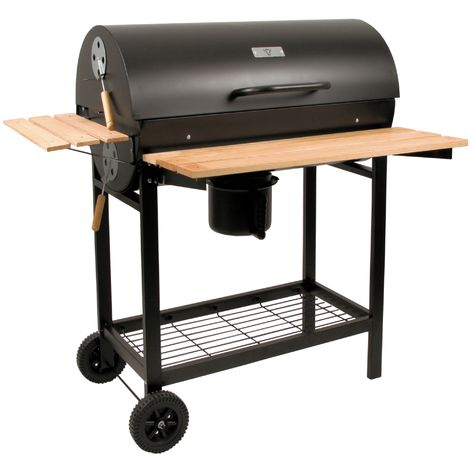 BBQ-TORO charcoal grill cart, smoker, charcoal grill