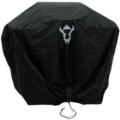 BBQ-Toro Couvercle du gril, (L) 124 x (H) 104 x (P) 51 cm, Hotte grillagée