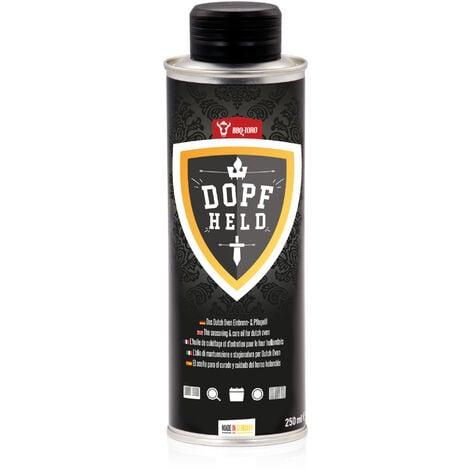 BBQ-Toro DOPFHELD - Das Dutch Oven Einbrenn- & Pflegeöl, 250 ml