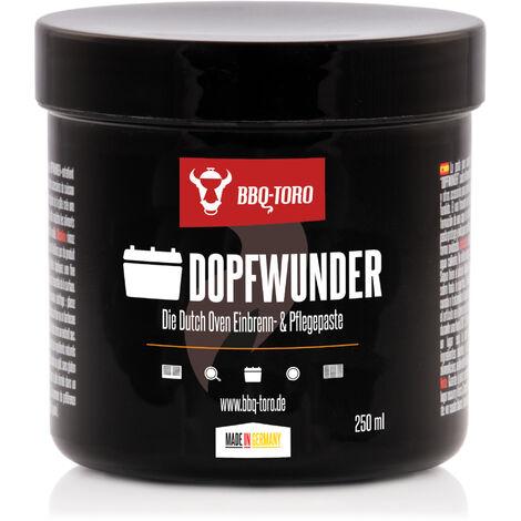 BBQ-Toro DOPFWUNDER - Die Dutch Oven Einbrenn- & Pflegepaste - 250 ml