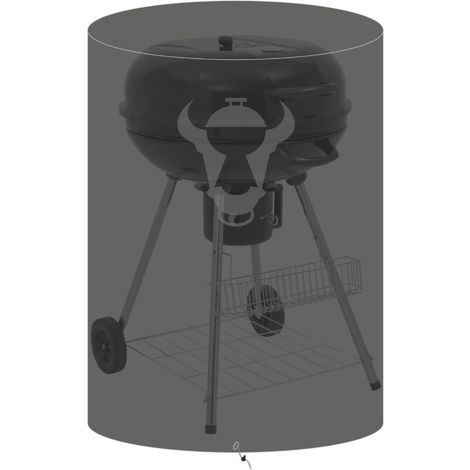 BBQ-TORO grill cover, Ø 74 x (H) 86 cm, grill cover